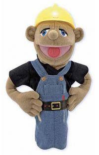 (D) CONSTRUCTION WORKER PUPPET