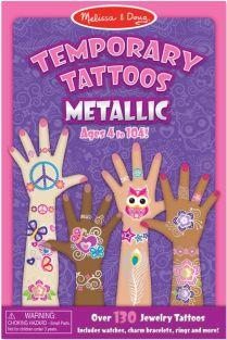 TEMPORARY TATTOOS-METALLIC