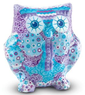 OWL-DECOUPAGE MADE EASY CRAFT
