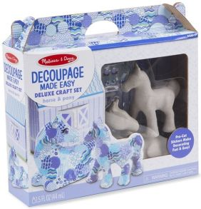 HORSE & PONY-DECOUPAGE MADE EA