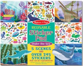 UNDER THE SEA REUSABLE STICKER