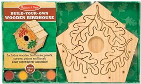 BUILD-YOUR-OWN WOODEN BIRDHOUS