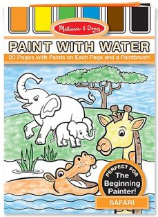 SAFARI PAINT WITH WATER PAD #3