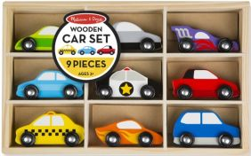 WOODEN CARS SET