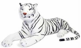 WHITE TIGER-GIANT PLUSH