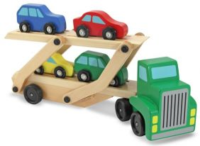 WOOD CAR CARRIER - MELISSA & DOUG