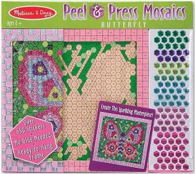BUTTERFLY PEEL & PRESS MOSAICS