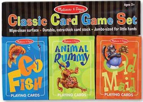 CLASSIC CARD GAME SET #4370 BY