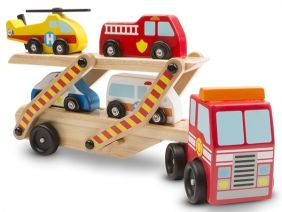 EMERGENCY VEHICLE CARRIER WOOD