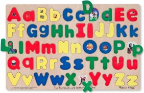 UPPER & LOWER CASE WOODEN ABC