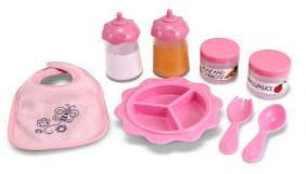MINE TO LOVE-BABY FOOD & BOTTLE SET