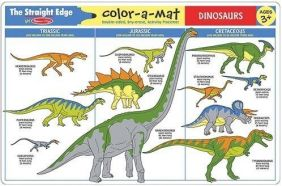 DINOSAURS LEARNING MAT