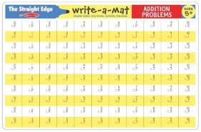 ADDITION LEARNING MAT