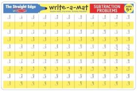 SUBTRACTION PROBLEMS WRITE-A-M