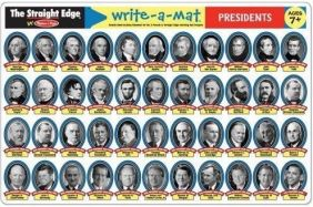 PRESIDENTS WRITE-A-MAT