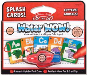 WATER WOW! ALPHABET SPLASH CARDS!