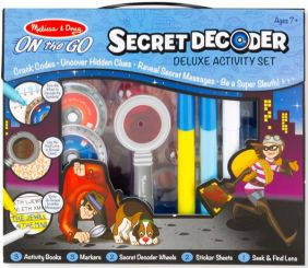 ON-THE-GO SECRET DECODER DELUX