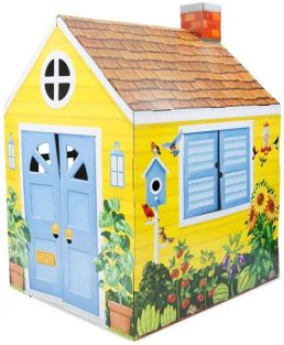 COTTAGE PLAYHOUSE-CARDBOARD