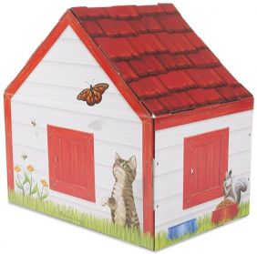 DOGHOUSE PLUSH PET PLAYHOUSE