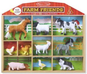 FARM FRIENDS-10 COLLECTIBLE