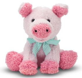 MEADOW MEDLEY PIGGY PLUSH