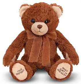 LORD'S PRAYER BEAR PLUSH WITH