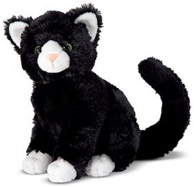 MIDNIGHT CAT PLUSH