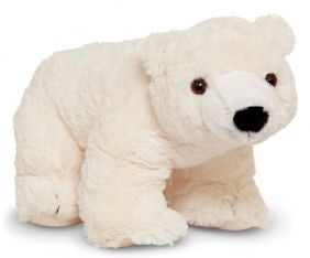 GLACIER POLAR BEAR CUB PLUSH