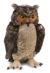OWL LIFE-LIKE PLUSH