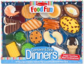 FOOD FUN COMBINE & DINE DINNER (BLUE)