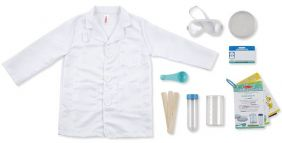 SCIENTIST ROLE PLAY COSTUME