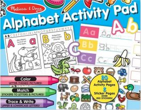 ALPHABET ACTIVITY PAD #8563