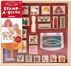 FARM STAMP-A-SCENE SET