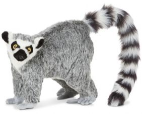 "LEMUR 28"" LIFELIKE PLUSH"