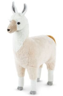 "LLAMA 31"" LIFELIKE PLUSH #8814 BY MELISSA & DOUG"