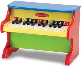 MELISSA & DOUG LEARN-TO-PLAY WOODEN PIANO #8960