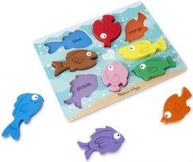 COLORFUL FISH CHUNKY PUZZLE #9