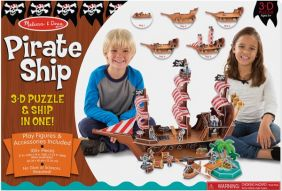 PIRATE SHIP 3D PUZZLE 100+PC