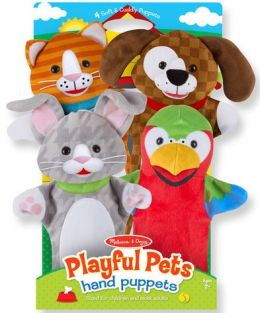 PLAYFUL PETS HAND PUPPETS SET