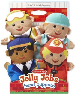 JOLLY JOBS HAND PUPPETS #9086