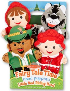 FAIRY TALE TIME HAND PUPPET SET