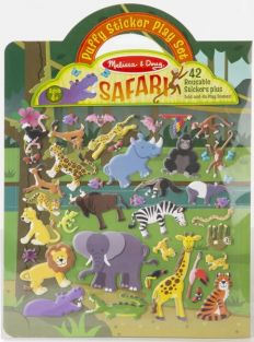 SAFARI - PUFFY STICKER PLAYSET