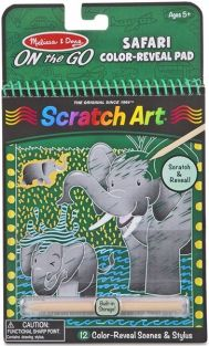 SAFARI-SCRATCH ART ON-THE-GO