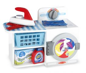 WOODEN WASH, DRY & IRON PLAY S