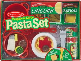 PREPARE & SERVE PASTA PLAY SET