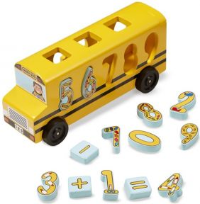 NUMBER MATCHING MATH BUS-CLASS