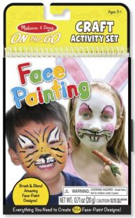 FACE PAINTING ON-THE-GO CRAFT ACTIVITY