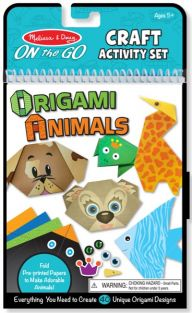 ORIGAMI ANIMALS ON-THE-GO CRAFT ACTIVITY