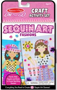 SEQUIN ART FASHIONS-ON THE GO