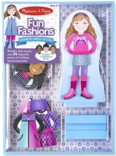 MAGNETIC FUN FASHIONS DRESS-UP